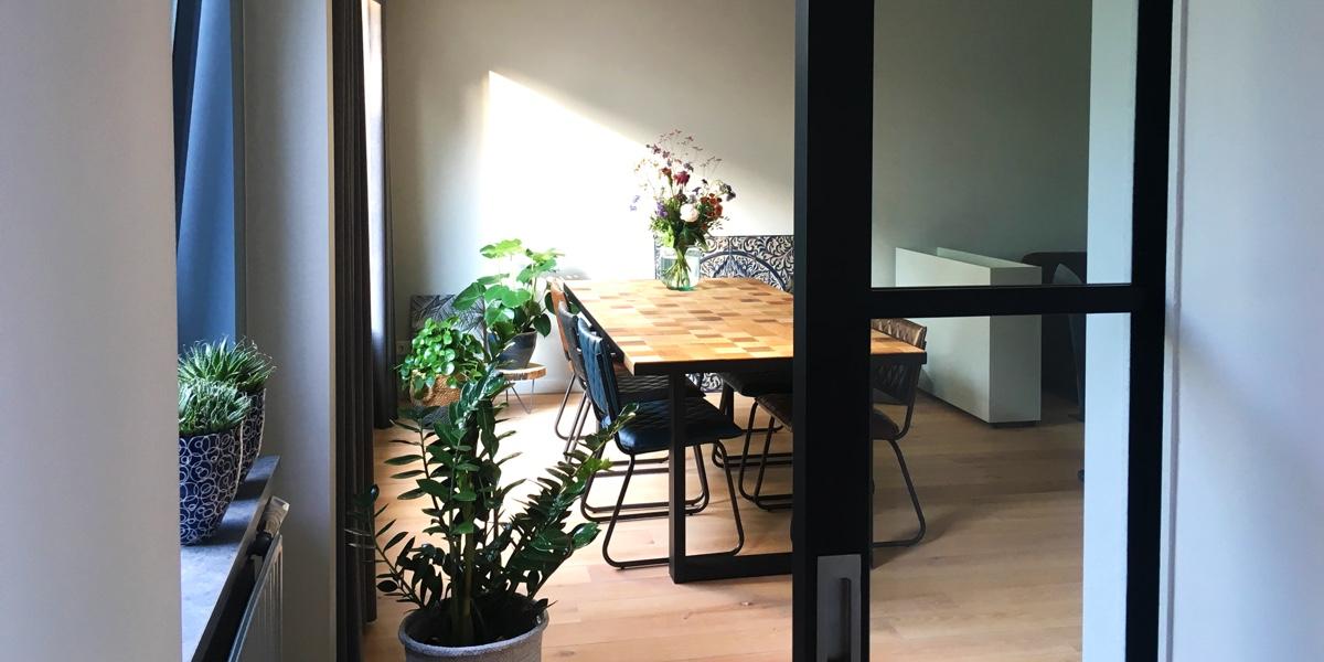 Renovatie van een woonhuis aan Plantsoen de Pas